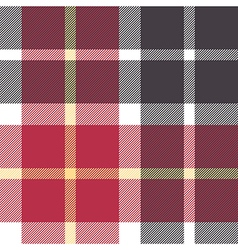 Red and gray flanel check seamless pattern vector