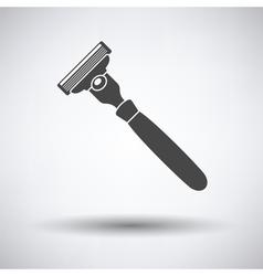 Safety razor icon vector image