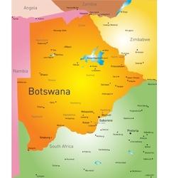 Botswana vector