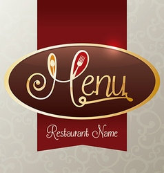 Restaurant digital design vector
