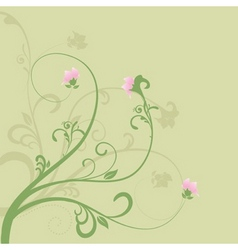 Spring floral vector