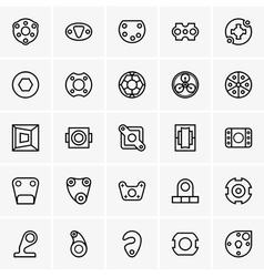 Machine elements vector image