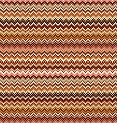 Seamless geometric pattern with Zig zag stripes vector image vector image
