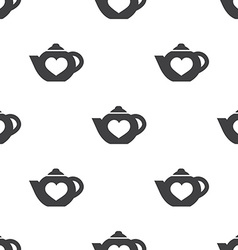 teapot seamless pattern vector image vector image