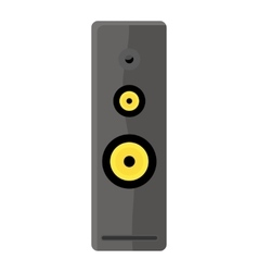 Computer audio speaker vector