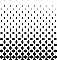 Monochrome rhombus shape pattern design background vector