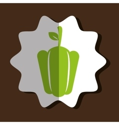 Organic food design vector