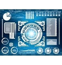 Abstract future concept futuristic virtual vector