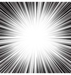 Abstract radial monochrome stripes burst vector