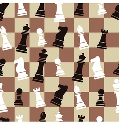 chess background vector image vector image