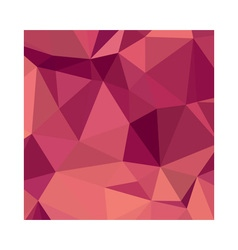 Deep cerise purple abstract low polygon background vector