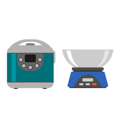 Home weight instrument measurement tool cooking vector