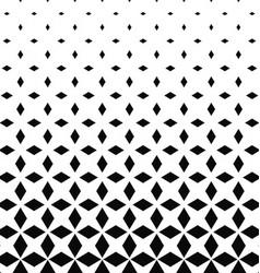 Monochrome rhombus shape pattern design background vector