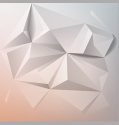 Abstract colorful geometric low poly background vector