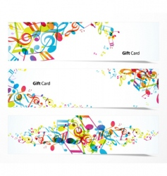 Set of website banners vector