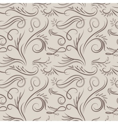 Vintage latte pattern vector