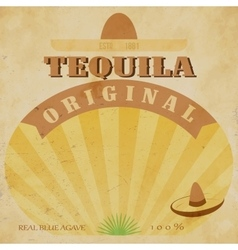 Vintage alcohol label fully editable eps10 vector