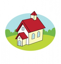 Schoolhouse vector