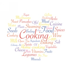 Cooking food industry vector