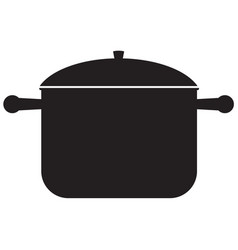 Pan icon kitchenware vector