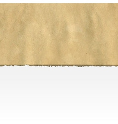 Retro Ripped Paper Banner vector image vector image