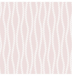 White abstract lace pattern vector image