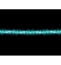 Seamless sound waves oscillating EPS 10 vector image