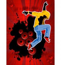 disco club brochure vector image