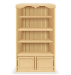 Bookcase 01 vector