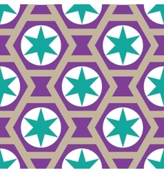 Seamless stars background in vector
