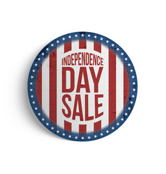 Independence day sale gift card template vector