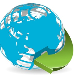 worldwide vector image