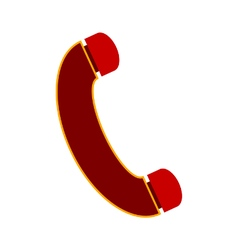 Phone symbol icon vector