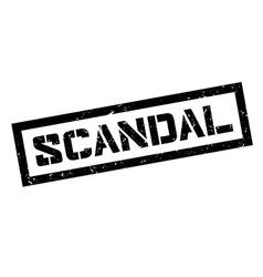 Scandal rubber stamp vector image