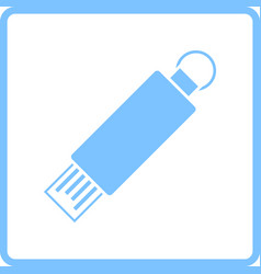 Usb flash icon vector