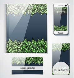 Pattern background design brand products from the vector