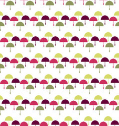 Umbrella pattern seamless umbrella background vector