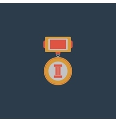 Medals 3 places vector