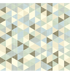 Geometric triangles pattern with stripes vector image