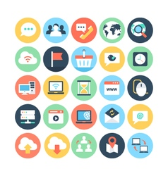 Internet icon 1 vector