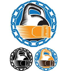 iron sports vector image