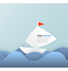 Mobile icon and boat vector