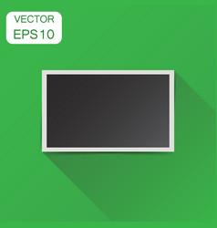Photo frame icon business concept photography vector