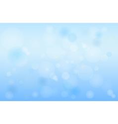 Winter Bokeh vector image vector image