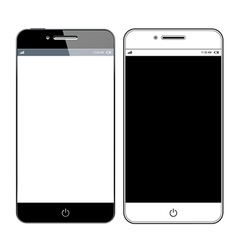 Realistic modern smartphone vector image