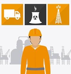 Industry design vector image