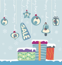 new year gifts vector image