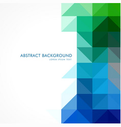 Abstract shapes background vector