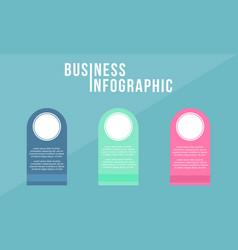 Infographic design business concept collection vector