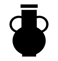 Pitcher icon simple style vector